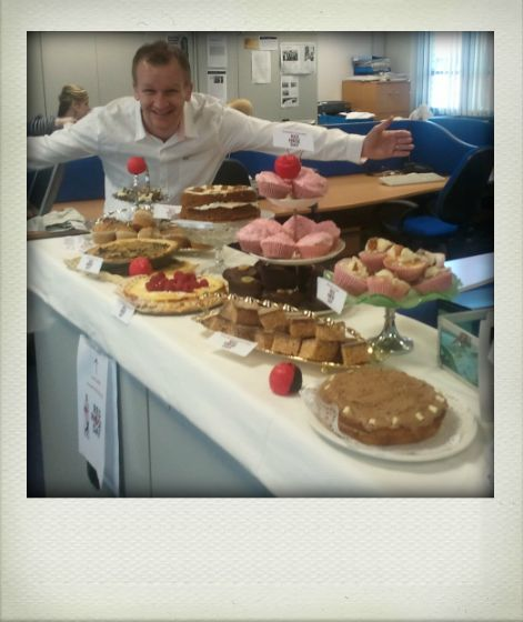Escape's Red Nose Day Bake-Off