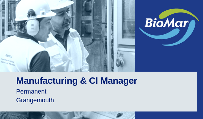 BioMar Manufacturing and CI Manager Job