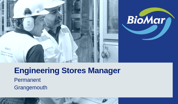 Engineering Stores Manager | Biomar