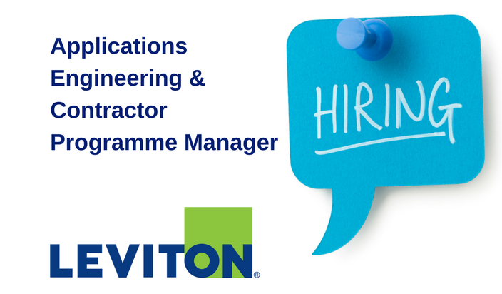 Leviton - Applications Engineering Manager