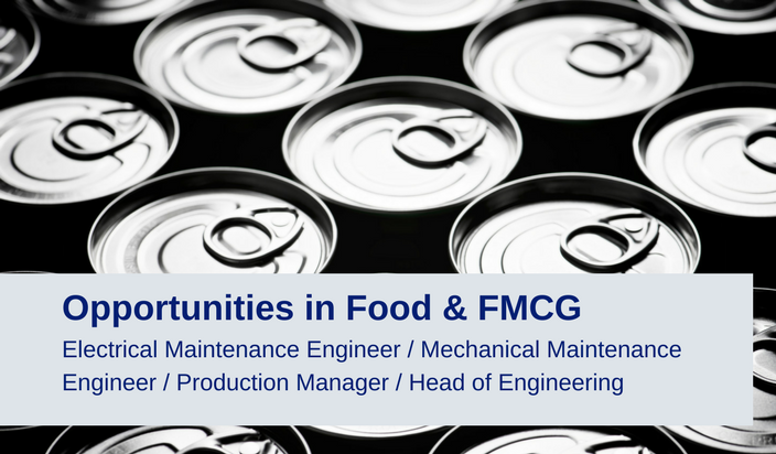 Opportunities in Food and FMCG