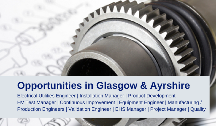 Engineering Jobs in Glasgow and Ayrshire