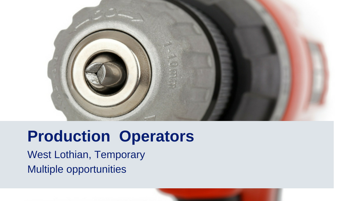 Production Operators West Lothian